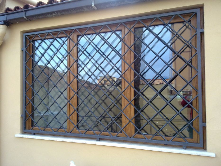 Grate in ferro battuto generaltek - Disegni di grate per finestre ...