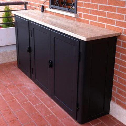 Mobili e armadi in alluminio generaltek for Mobili terrazzo