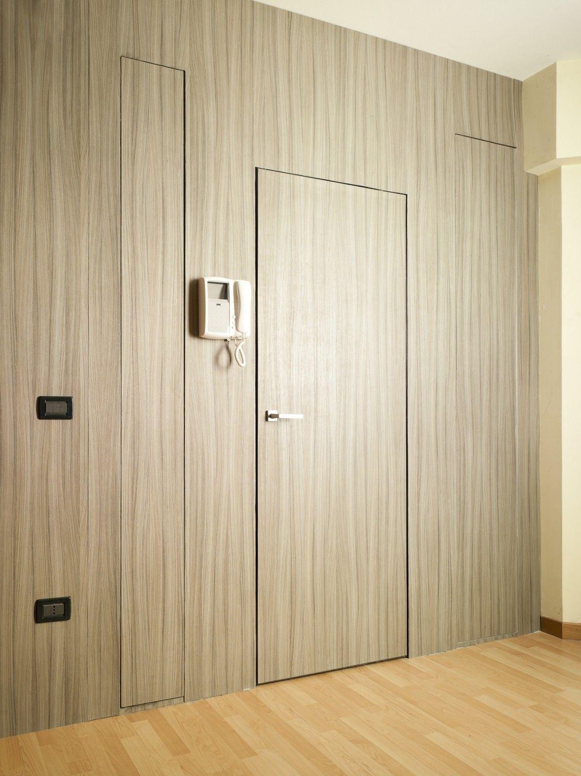 Porte blindate raso muro generaltek - Porte raso muro ...
