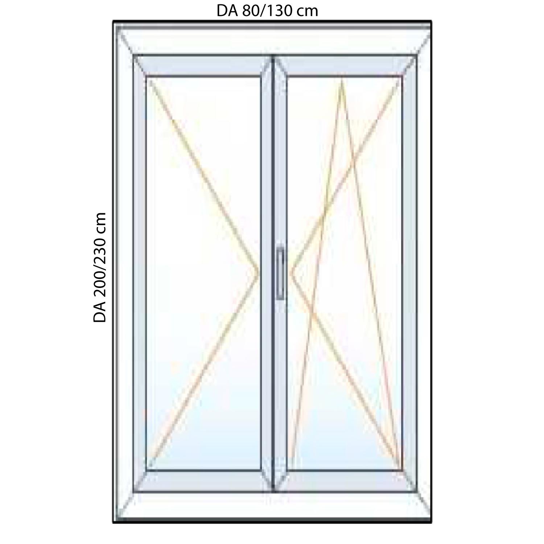 Misure standard infissi balcone pannelli termoisolanti - Porta finestra misure ...